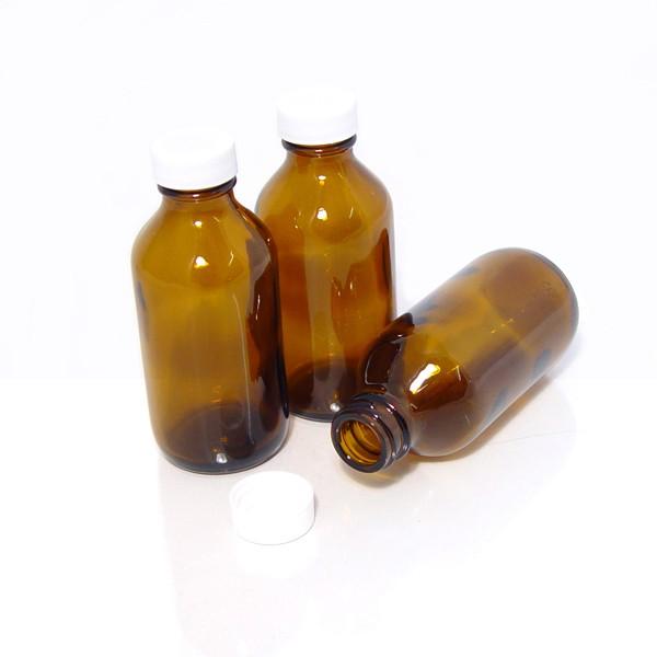 Brown Plastic PET Bottles