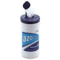 Azo Wipettes Hard Surface Bactericidal Wipes-Alcohol  x 200